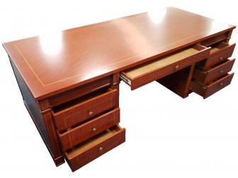 High Quality Solid Wood Executive Desk FER-10810