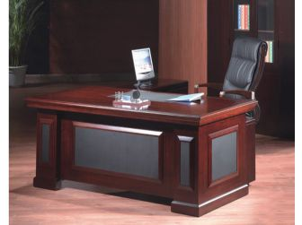 Executive Mahogany Desk With Leather DES-1819 1800mm