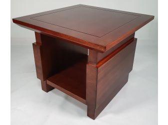 Light Walnut Executive Coffee Table COF-F22