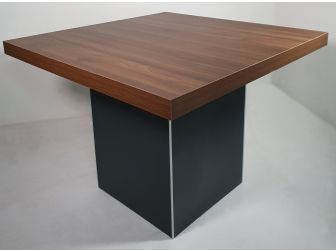 Walnut and Grey Executive Meeting Table - MBM010