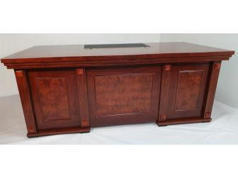 Executive Desk With Detailed Panelling Available in 2 sizes DES-2489