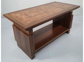 Large Light Oak Executive Coffee Table - F22-1000x500