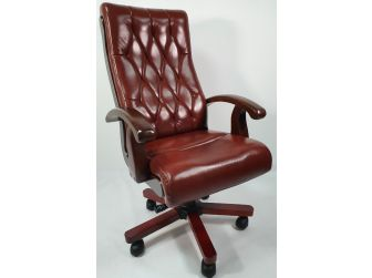 TanLeather Executive Office Chair CHA-WS-977