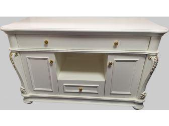 Traditional Luxury White Executive Storage Unit - 0819-ST