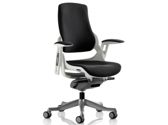 Dynamic Zure Black Fabric Office Chair
