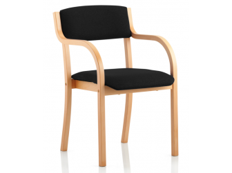 Dynamic Madrid Conference Chair With Arms