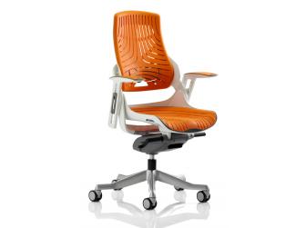 Dynamic Zure Elastomer Orange Gel Office Chair