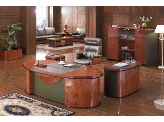 Contemporary  Italian Design Executive Desk HSN-6865-2200mm