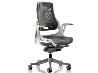 Dynamic Zure Elastomer Grey Gel Office Chair