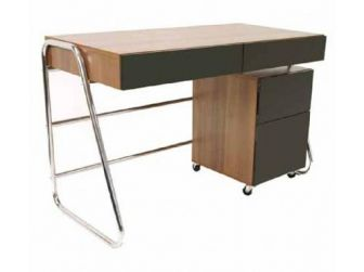 Juo Walnut / Black Designer Desk ALT63222-W