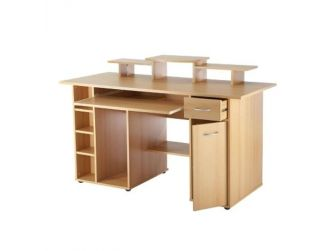 San Diego Beech Effect Home Office Desk AW12004