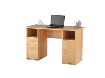 Maryland Beech Effect Home Office Desk AW12010