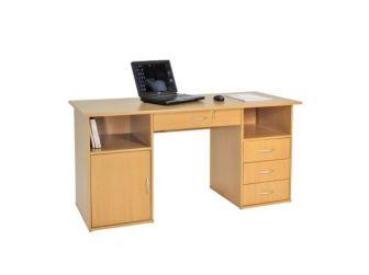 Dallas Beech Effect Home Office Desk AW12289