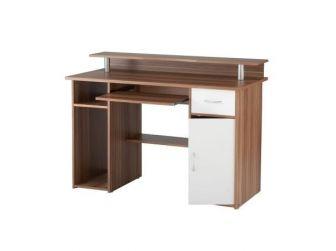 Albany Walnut Effect Home Office Desk AW12362-W