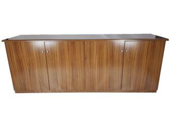 Executive Light Oak 4 Door Cupboard - 6846D