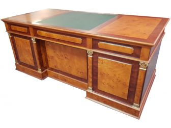 Luxury Solid Wood Executive Desk 2000mm COL-10803