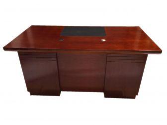 Real Wood Veneer Mahogany Executive Office Desk - UMA161-1600mm