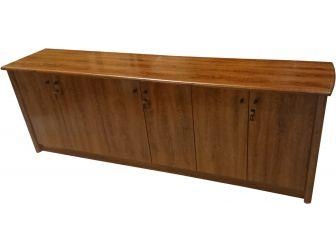 Medium Oak  6 door office cupboard 6846T-32-6DR