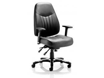 Dynamic Barcelona Deluxe Leather Office Chair