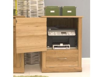 Oak Printer Cupboard COR07C