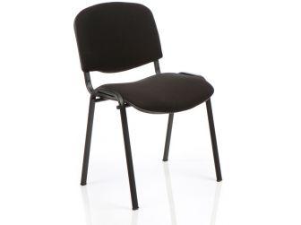 Dynamic ISO Black Frame Fabric Chair