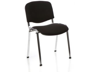 Dynamic ISO Chrome Frame Fabric Chair