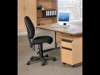 Vantage 100 Fabric Operator Chair - V100