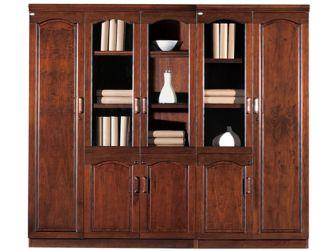 Executive Office Storage Bookcase BKC-6602 Walnut