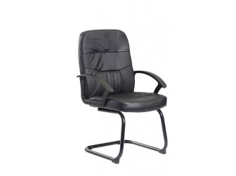 Cavalier Soft Leather Visitors Chair - CAV100C1