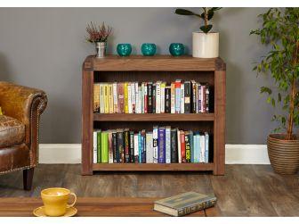 Walnut Low Bookcase CDR01B