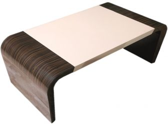 Gloss Walnut Executive Coffee Table - CF1283