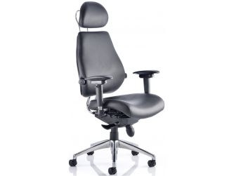 Dynamic Chiro Ultimate Leather Office Chair