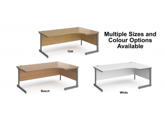 Contract Cantilever Frame Right Hand Corner Office Desk