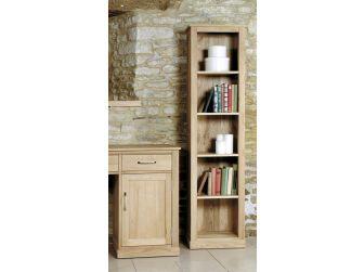 Oak Narrow Bookcase COR01D