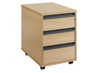 3 Drawer Mobile Desk Pedestal 25M3