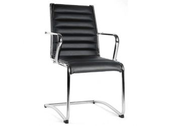 Bari High Back Leather Visitor Chair BARI100C1
