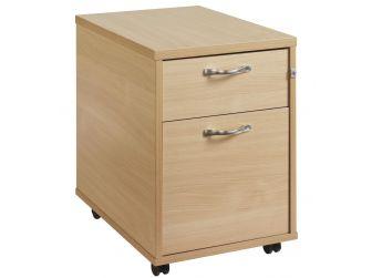 2 Drawer Mobile Desk Pedestal R2M
