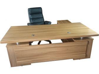 Light Oak 2m Executive Corner Office Desk DES-802-20-LO
