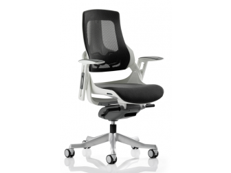 Dynamic Zure Charcoal Mesh Office Chair