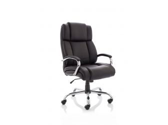 Dynamic Texas Heavy Duty Leather Office Chair - Up to 35 Stone