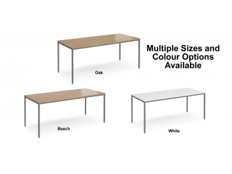 Rectangular Flexi Table with H Frame