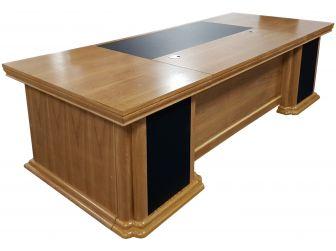 Large 2800mm Wide Light Oak Executive Desk HB-DSK-K1N281