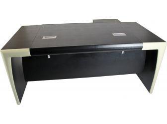 Bespoke Leather Executive Desk - T1282L- 1800mm / 2000mm size