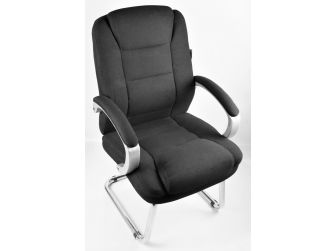 Black Fabric Cantilever Office Chair - HF-532F