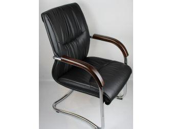 Stylish Office Visitor Chair GRA-CHA-VIS-6161 BLACK