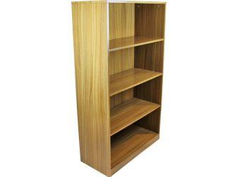 Light Oak Executive Bookshelf BCK-1861-AB01