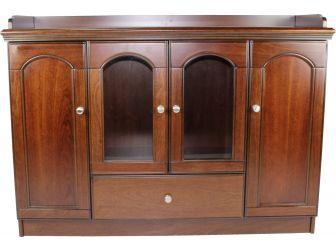 Executive Walnut Veneer Cupboard - JU03