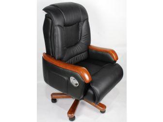 Quality Executive Chair Wood Arms GRA-CHA-A13-3