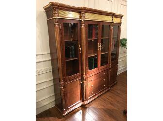 Premium Solid Wood Executive Bookcase DES-10816A