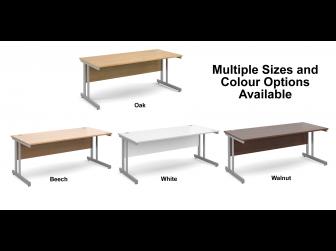 Momento Straight Cantilever Leg Office Desk